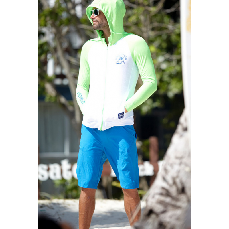 BOARD SHORT Neon Blue