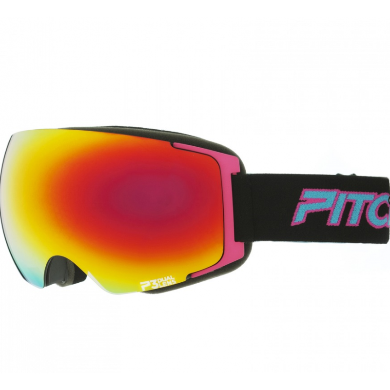 PITCHA MAGNO BLACK/PINKFIRE MIRORRED