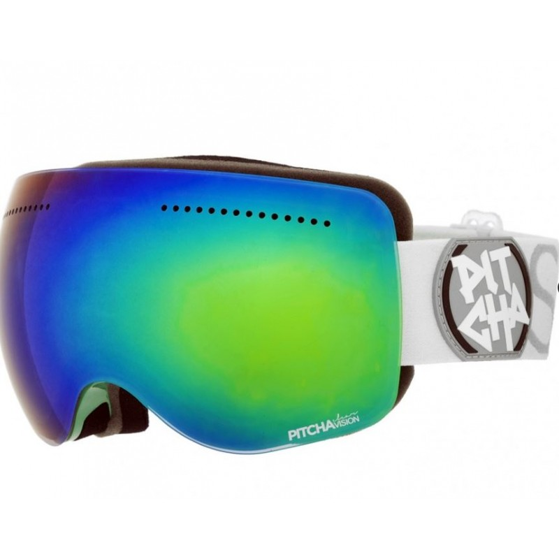 PITCHA SG 3.14 EMERALD/WHITE/GREEN MIRORRED