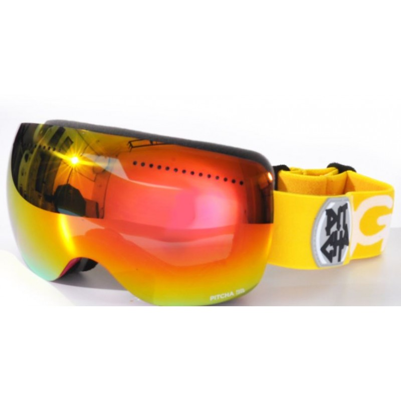 PITCHA SG6 Yellow Red Mirrored Revo