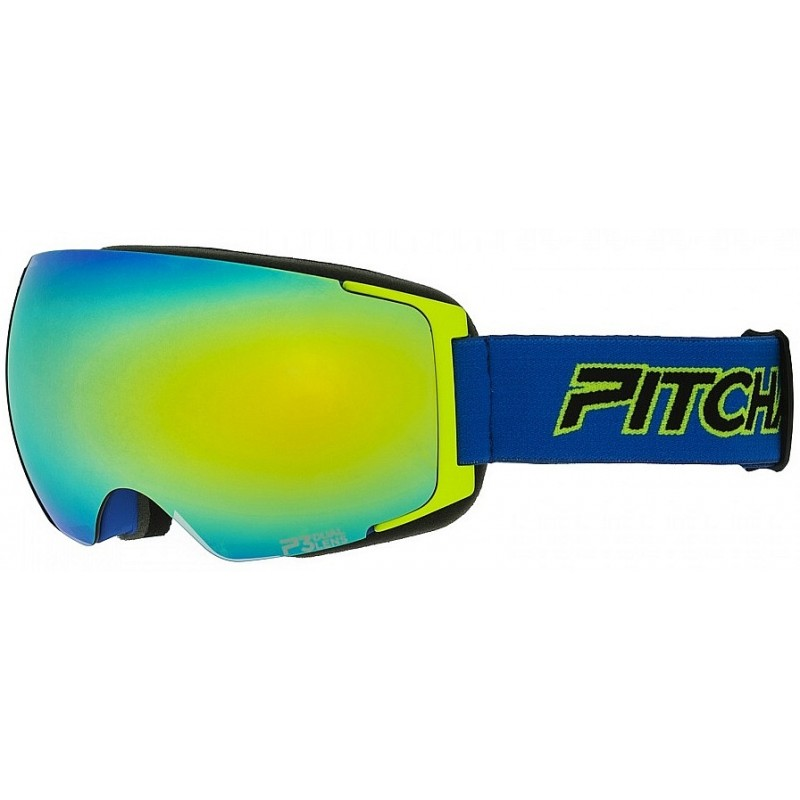 Pitcha Magno - Navy/Fluo/Yellow Mirrored
