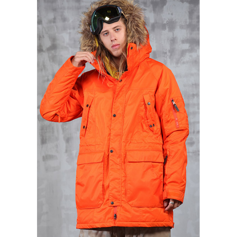 Techno Jacket Orange